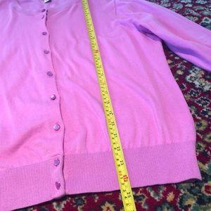 J. Crew Sweaters - J. Crew Clare Cardigan Sweater Pink/Purple